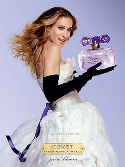 New Fragrance by Sarah Jessica Parker Covet Pure Bloom