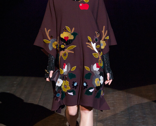 'Enchanted Sicily' was Dolce & Gabbana's title for the fall 2014 collection which had a glam-medieval allure that kept all eyes on the outfits from beginning to end.