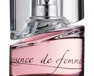 Essence de Femme perfume by Hugo Boss. Second version of the same fragrance: Boss Femme, for daytime and Essence de Femme the evening version.