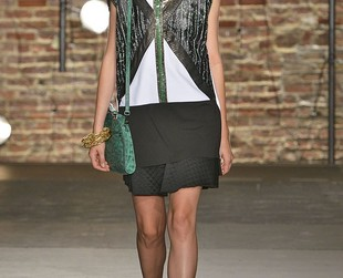 80s Harlem chicness inspired the latest Kenneth Cole spring 2014 RTW collection and the designs are definitely worth checking out!