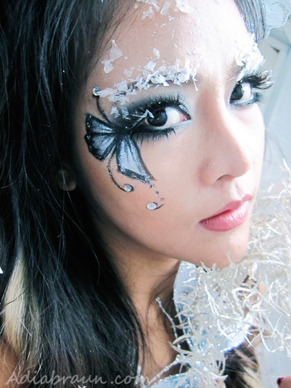 Butterly Pixie Makeup Halloween