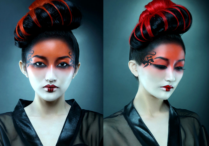 Halloween Geisha Makeup Ideas
