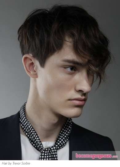 2012 Men's Hair: Indie Front Sweep