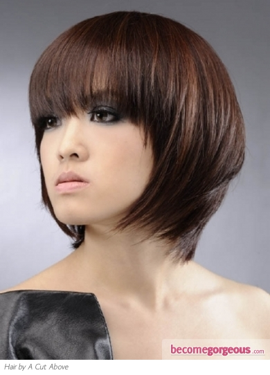 Stylish Midi Layered Haircut