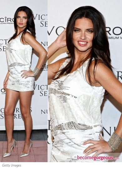 Adriana Lima in Pucci Mini Dress