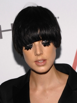 Agyness Deyn Bowl Bob Haircut