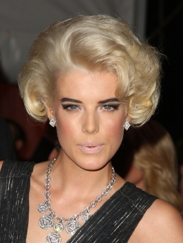 Agyness Deyn's Old Hollywood Hairstyle