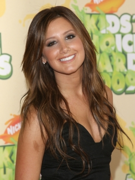 Ashley Tisdale's Hairstyle at the Kids' Choice Awards