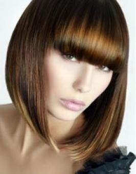 Long A Line Bob Hairstyle