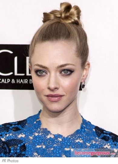Amanda Seyfried's Hairstyle at 2013 Critics Choice Awards