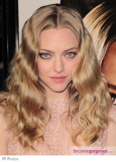 Pleasant Pictures Amanda Seyfried Hairstyles Amanda Seyfried Wavy Hairstyle Hairstyles For Men Maxibearus