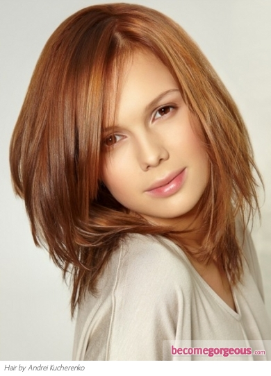 Lovely Long Layered Haircut