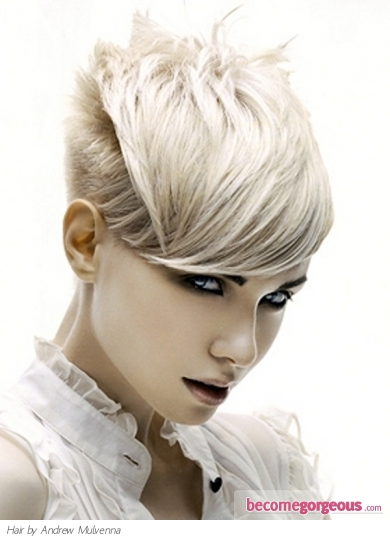 Short Cutting Edge Hair Style