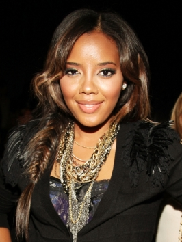 Angela Simmons Side Fishtail Braid