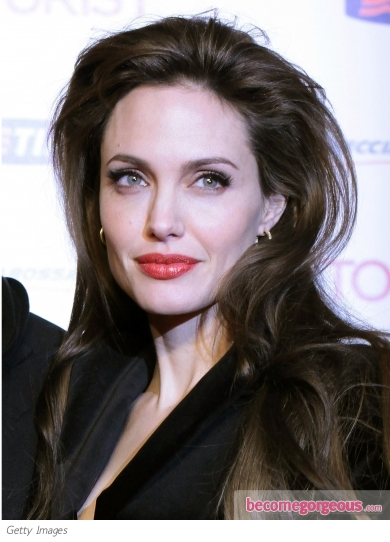 Angelina Jolie Voluminous Hairstyle. Angelina Jolie Hairstyles pictures