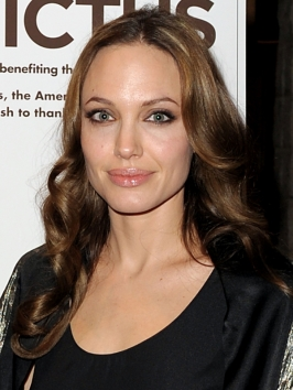 Angelina Jolie Soft Curly Hairstyle