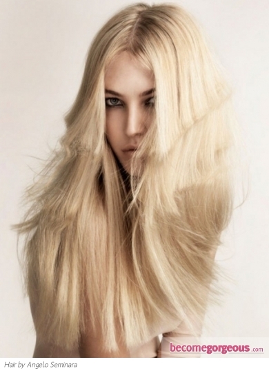 Fabulous Long Blonde Hairstyle