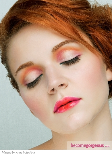 Girly Multi-tonal Party Eye Makeup