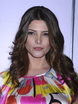 Ashley Greene looked stunning at premiere of 'The Twilight Saga: Breaking Dawn - Part 2'. She wore her hair styled with glossy, sculpted waves with front pieces twisted then pinned back and away from the face.