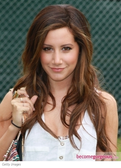 Ashley Tisdale Long Loose Waves