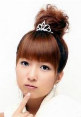 Asian High Bun with Tiara
