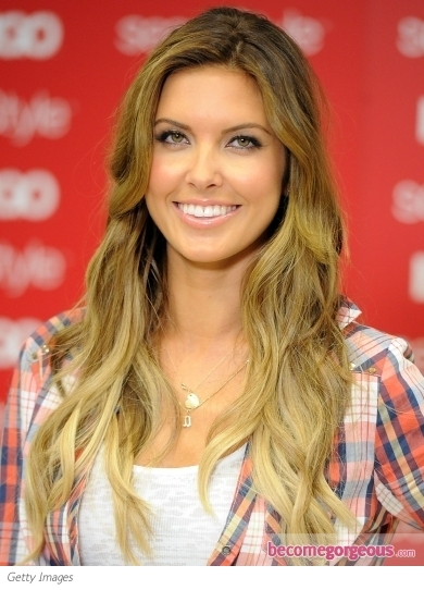 Audrina Patridge Ombre Hair Color