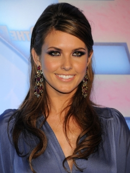 Audrina Patridge Sexy Hairstyle with Pouff