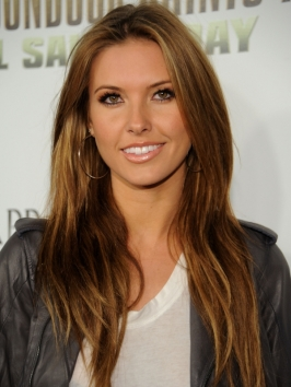 Audrina Patridge Toffee Blonde Hairstyle