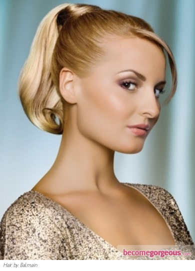 Chic Formal Ponytail