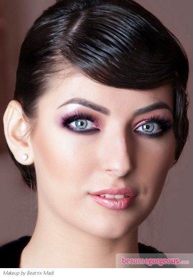 Fabulous Purple Eye Makeup