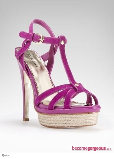 Bebe Holly Strappy Sandals
