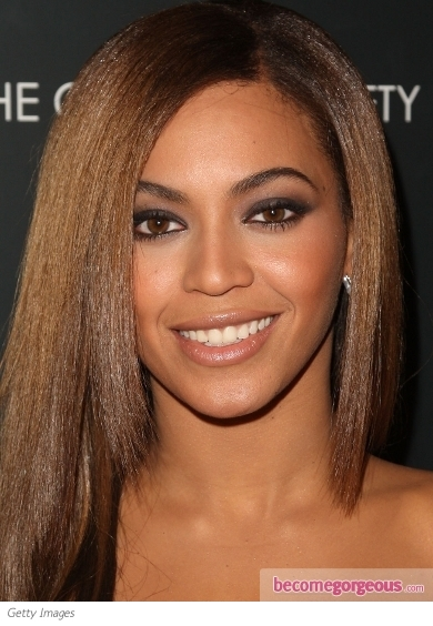 Beyonce Smokey Eye Makeup