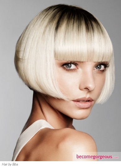 Chic Blunt Bob Hairstyle