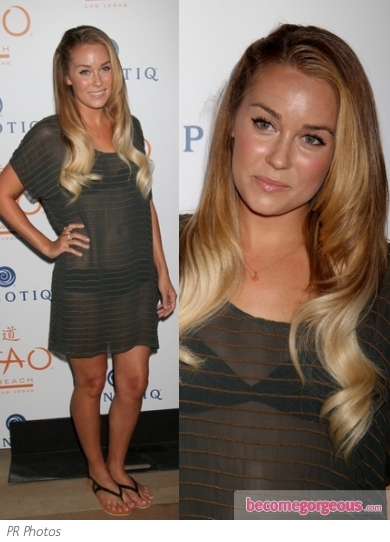 Lauren Conrad in Bikini and Cover-up