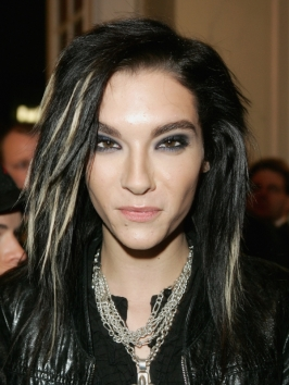 Bill Kaulitz Long Layered Hairstyle