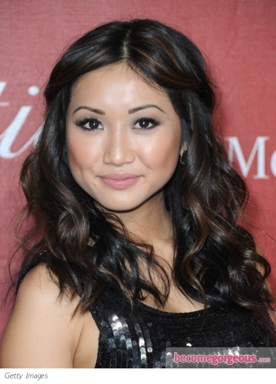 Brenda Song Wavy Hairstyle. Bouncy waves like Brenda Song's are always in