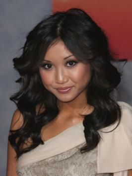 Bouncy waves like Brenda Song's are always in style. The golden highlights throughout her hair warm up her complexion and gives a glossy finish.