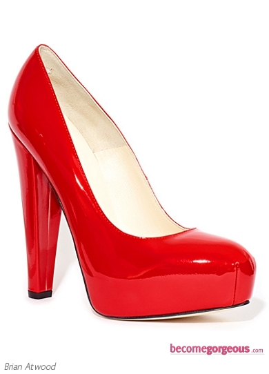 Brian Atwood Power Patent-Leather Pumps