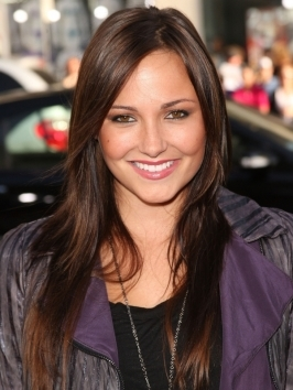 "Birana Evigan opted to wear a casual low-slung pony to the ""The Twilight Saga: Breaking Dawn Part 1"" Los Angeles premiere. She styled her long locks with loose, wavy texture before pulling lengths back and securing at the nape."