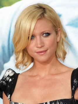 If you're constantly on the run, opt for a cute bob haircut like Brittany Snow's that's easy to pull together in no time. Work in a light weight mousse for volume and allow to air-dry. Wand top layers on a curling iron for some defined waves.