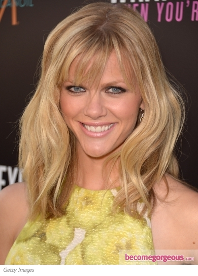Brooklyn Decker's Shoulder Length Hair with Bangs