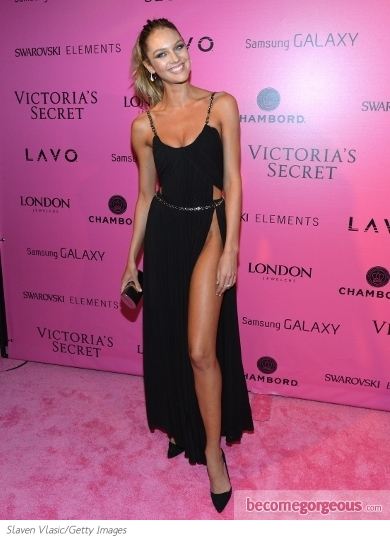 Candice Swanepoel at the VS Show 2012 After Party