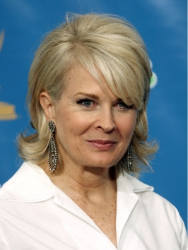 Candice Bergen's Layered Shag Hairstyle