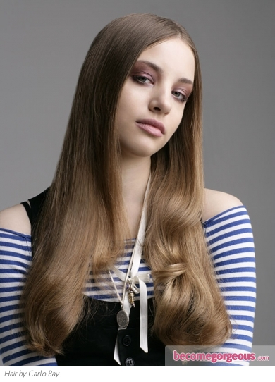 Super Long Sleek Hairstyle