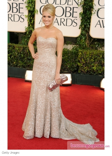 Carrie Underwood in Badgley Mischka