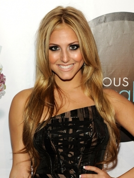 Cassie Scerbo Long Layered Hairstyle