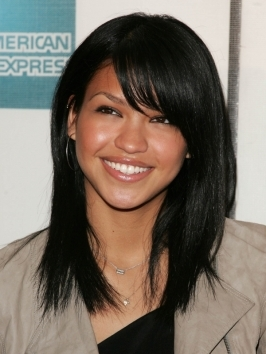 Cassie paired her edgy undercut hairstyle with rippling waves pulled to one side at the 2012 Cannes Film Festival.