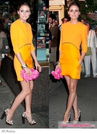 Olivia Palermo in Victoria Beckham Dress