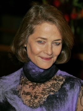 Charlotte Rampling with Bob Hairstyle