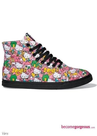 Cheerfully Hello Kitty Vans Shoes